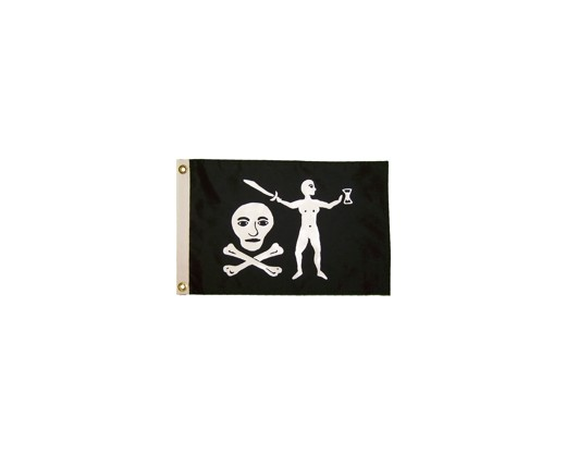 Walter Kennedy Pirate Flag - 12x18""