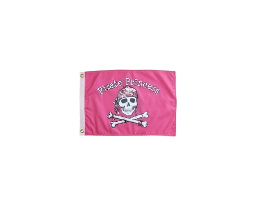 Pirate Princess Flag