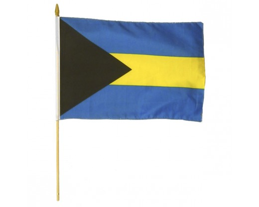 Bahamas Stick Flag