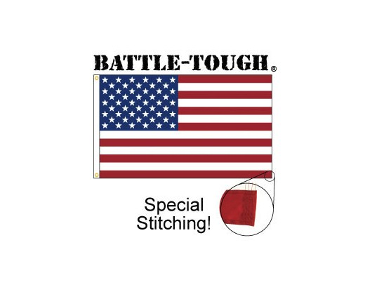 Battle-Tough® American Flag with Special Stitching