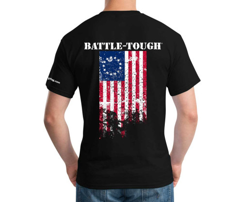 Battle-Tough Betsy Ross T-Shirt Back