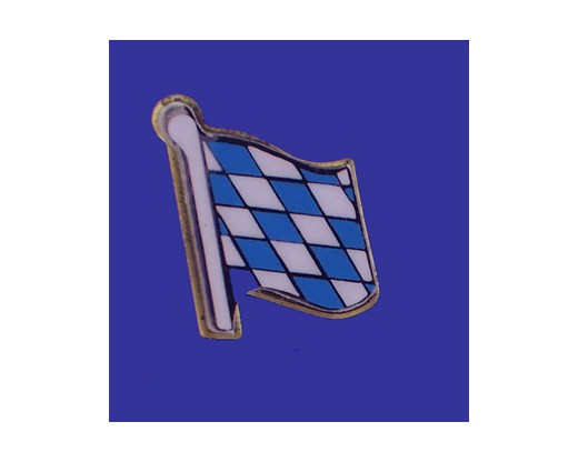 Bavaria (lozenge style) Lapel Pin (Single Waving Flag)