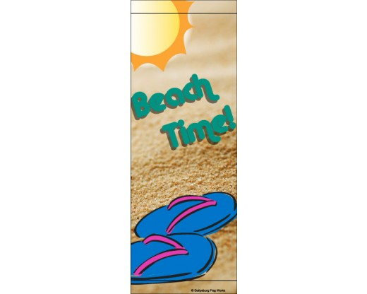 Beach Time - Flip Flops Avenue Banner