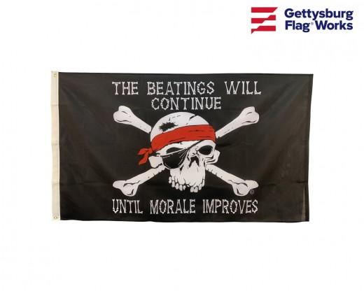 Beatings Pirate Flag