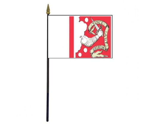 Bedford Stick Flag - 4x6""