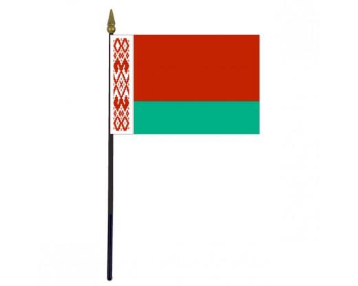"Belarus Stick Flag - 4x6"""