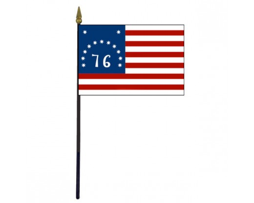 Bennington Stick Flag - 4x6""