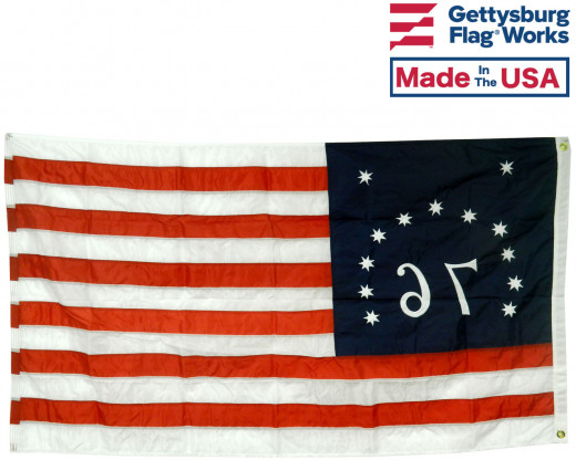 Back of Bennington Flag