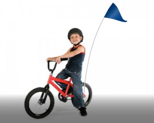 Bike Flag Set Blue
