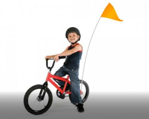 Bike Flag Set Orange