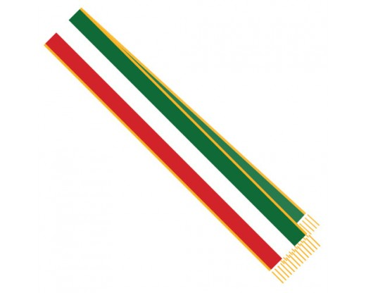 Italian Parade Sash 3 Stripe 7'