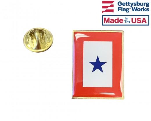 Blue Star Lapel Pin