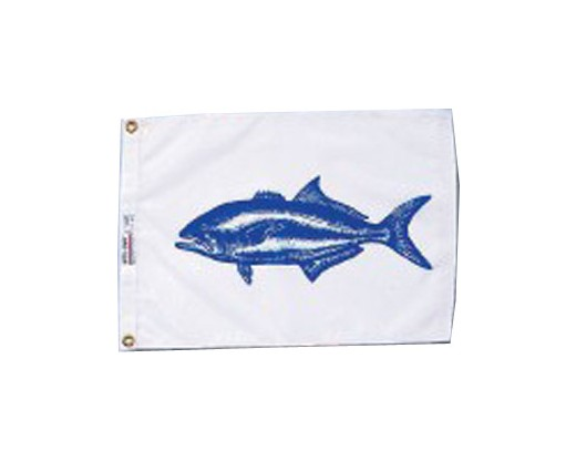 Bluefish Flag - 12x18""