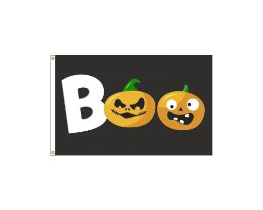 BOO / Pumpkin Flag