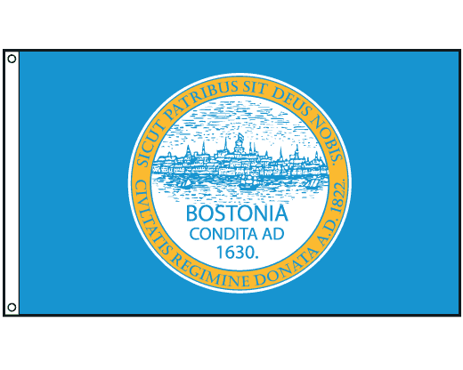 Boston City Flag
