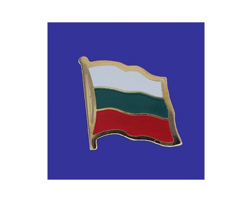 Bulgaria Lapel Pin (Single Waving Flag)
