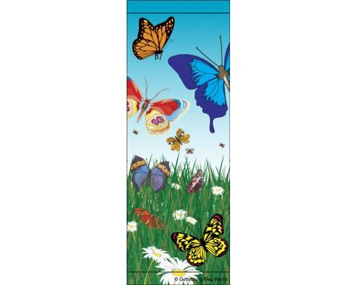 Butterfly Field Avenue Banner