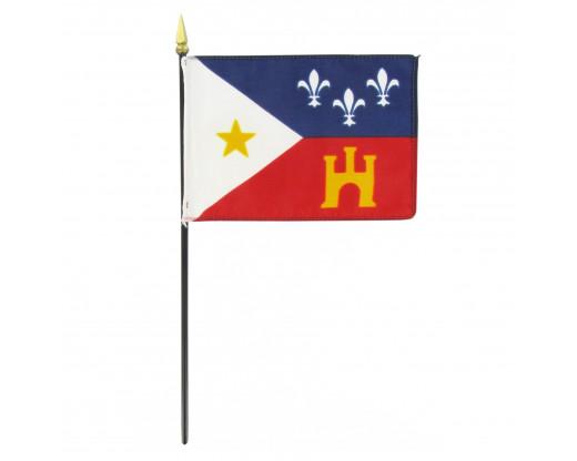 Cajun Stick Flag