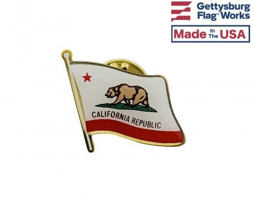 California Lapel Pin