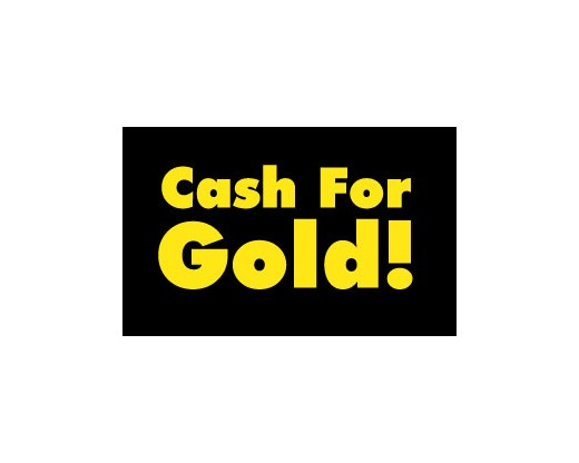Cash For Gold Flag