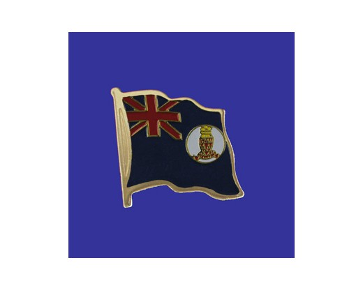 Cayman Island (blue design) Lapel Pin (Single Waving Flag)