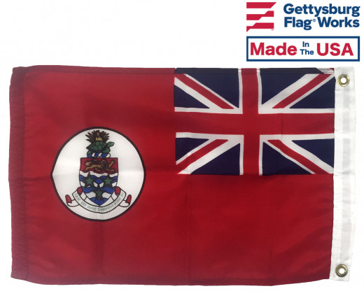 Back of Cayman Islands Flag
