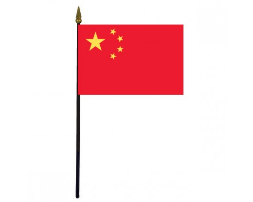 China (PRC) Stick Flag