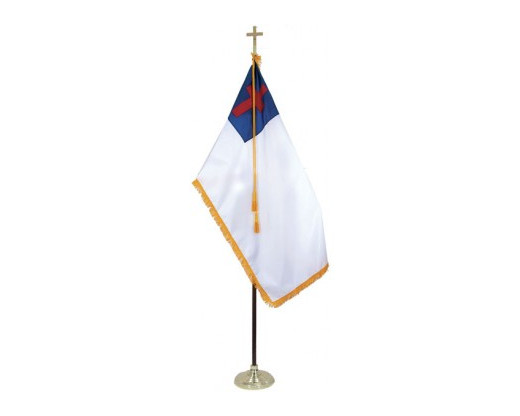 Christian Indoor Flag Set