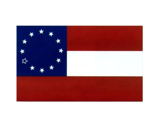 Co. A 21st VA Infantry Maryland Troops Maryland Southern Star Flag - 3x5'