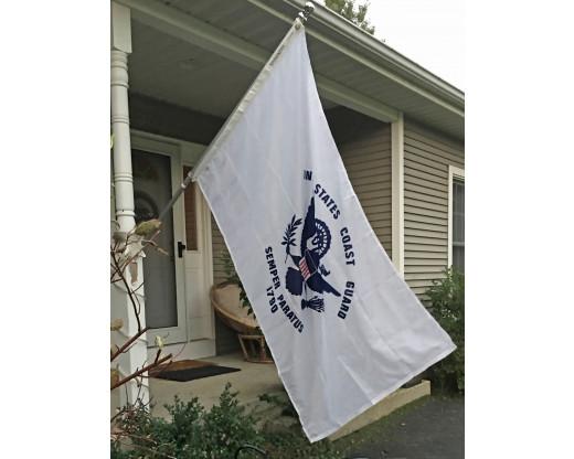 Coast Guard Flag Flying