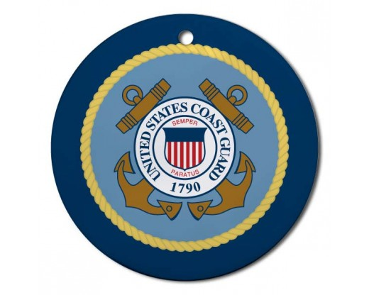 Christmas Ornament Coast Guard