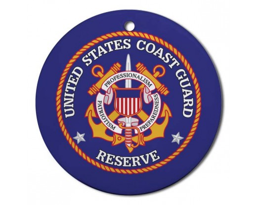 Christmas Ornament Coast Guard Reserved