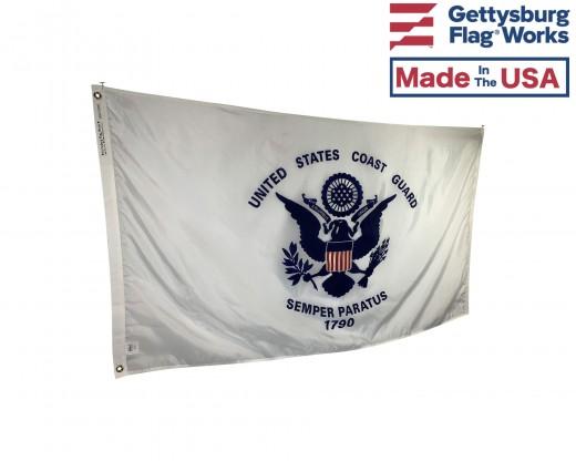 COAST GUARD FLAG made in USA