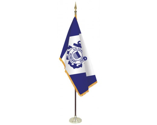 Coast Guard Auxiliary Flag Set