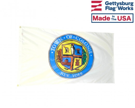 Town of Colonie Flag Front