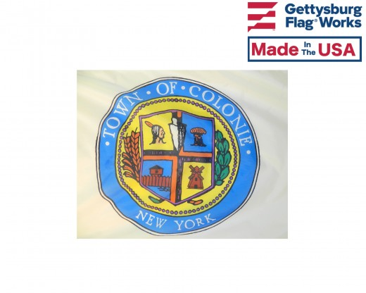 Town of Colonie Flag seal
