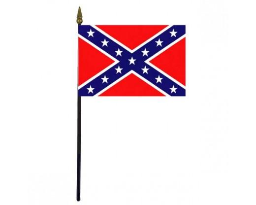 Confederate Battle Stick Flag