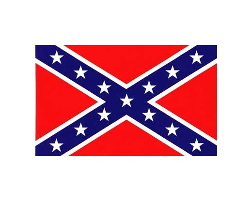 Confederate Battle Flag (Lightweight Polyester) - 3x5'