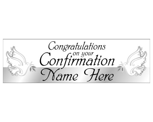 Congratulations Confirmation Banner