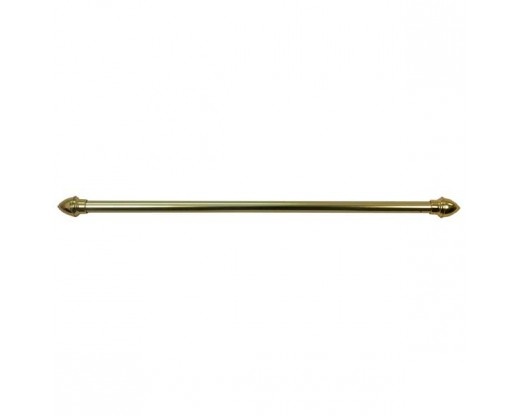 "30"" Gold Banner Pole with Acorn Ends"
