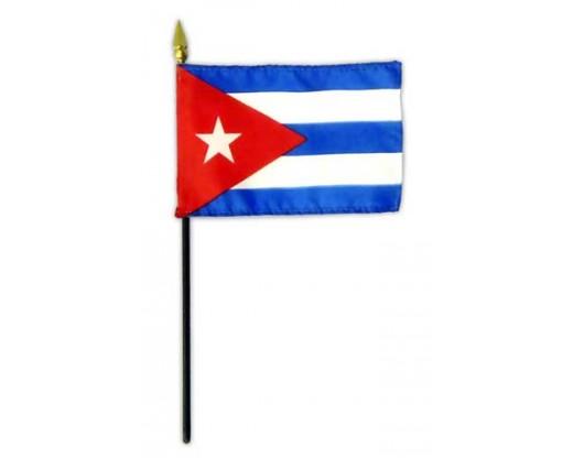 Cuba Stick Flag