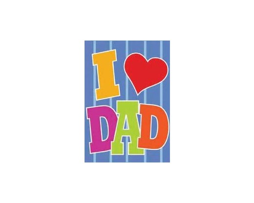 I Love Dad House Banner