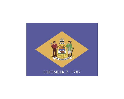 Delaware Flag - Outdoor - Delaware Flag