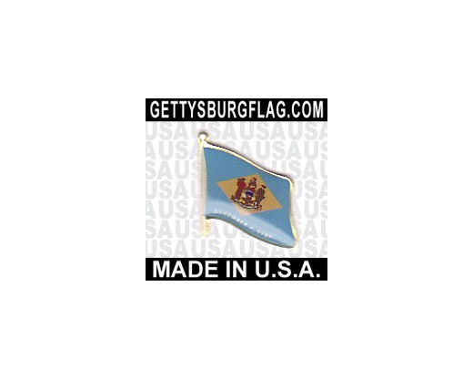 Delaware State Flag Lapel Pin