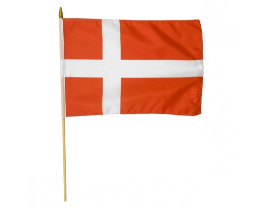 Denmark Stick Flag