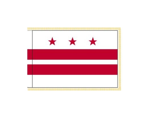 District of Columbia Flag - Indoor