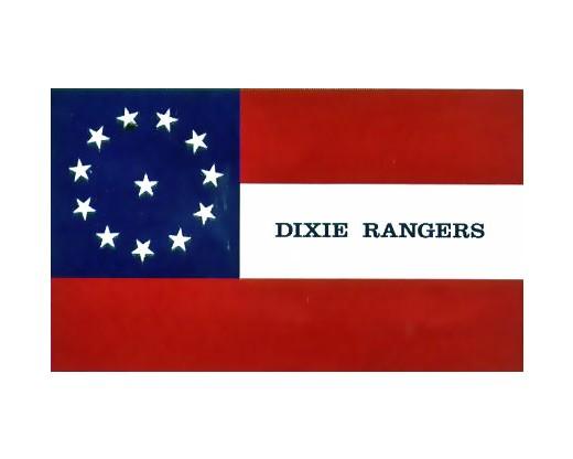 Dixie Rangers Flag - 3x5'