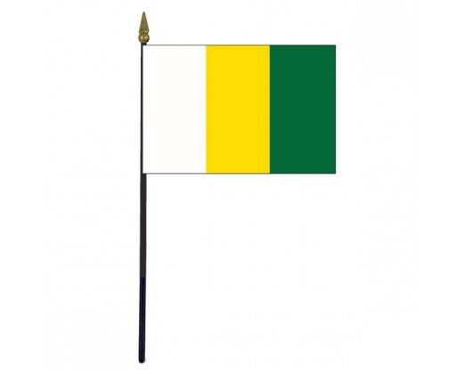 Donegal County Stick Flag (Ireland) - 4x6""