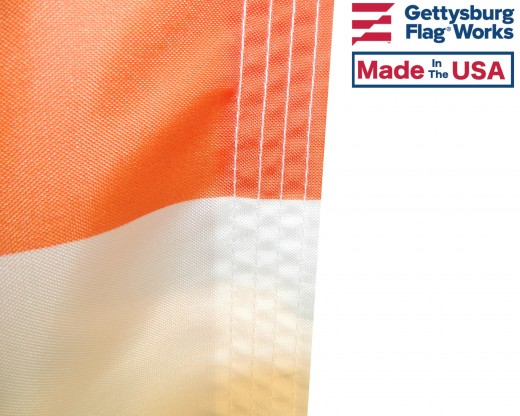 City Of Albany Flag with stitching