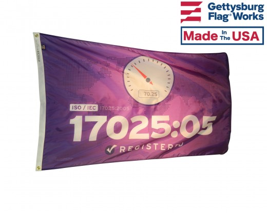 ISO 17025:05 Flag